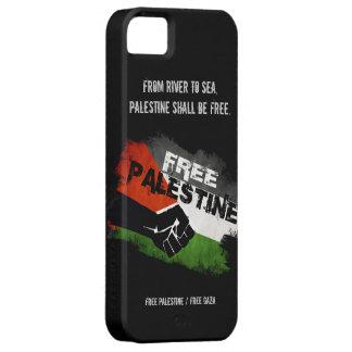 Caso libre del iPhone 5 de Palestina iPhone 5 Protectores