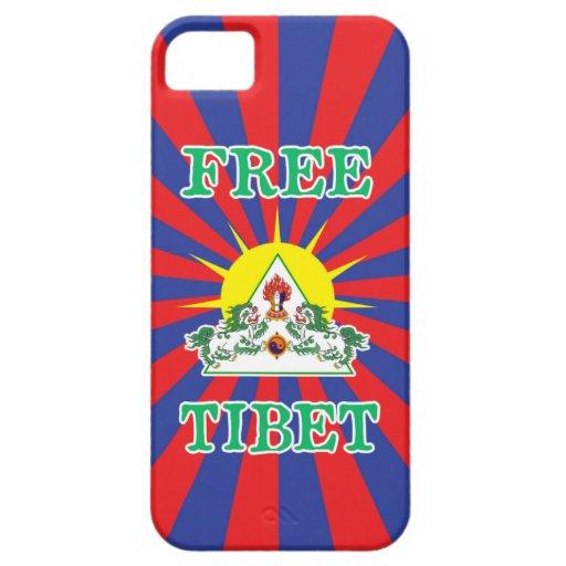 Caso libre del iPhone 5 de Tíbet iPhone 5 Case-Mate Carcasas