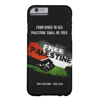 Caso libre del iPhone 6 de Palestina Funda De iPhone 6 Barely There