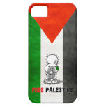 caso libre del iphone de Palestina iPhone 5 Protectores