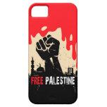 caso libre del iphone de Palestina iPhone 5 Case-Mate Cárcasa