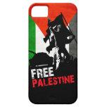 caso libre del iphone de Palestina iPhone 5 Protector