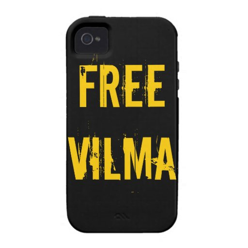Caso libre del iPhone de Vilma Carcasa Case-Mate Para iPhone 4