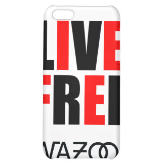 Caso libre vivo del iPhone del rojo