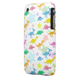 Caso lindo 3GS del iPhone 3 del modelo de Dinos iPhone 3 Case-Mate Carcasas