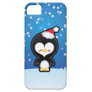 Caso lindo 5s del iPhone 5 del pingüino del iPhone 5 Case-Mate Coberturas