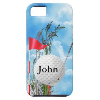 Caso lindo de la CUBIERTA IPHONE 5 del golf Funda Para iPhone SE/5/5s