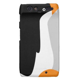 Caso lindo de Motorola RAZR Droid del pingüino de Motorola Droid RAZR Funda