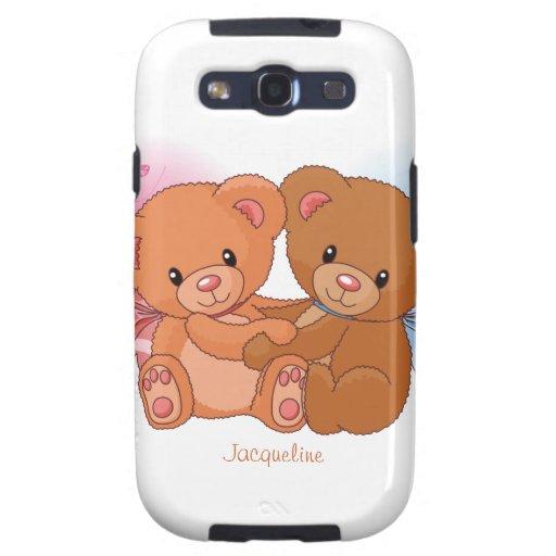 Caso lindo de Samsung S3 del abrazo del amor del o Samsung Galaxy S3 Protector