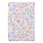 Caso lindo del iPad de las flores de mariposa iPad Mini Protector