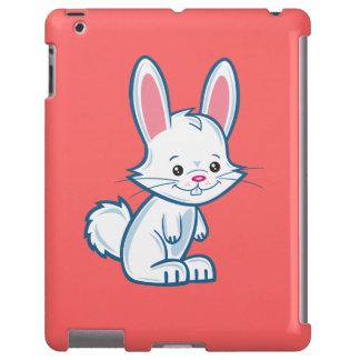 Caso lindo del iPad del conejito del dibujo animad