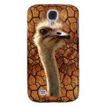 Caso lindo del iPhone 3 de la fauna de la avestruz