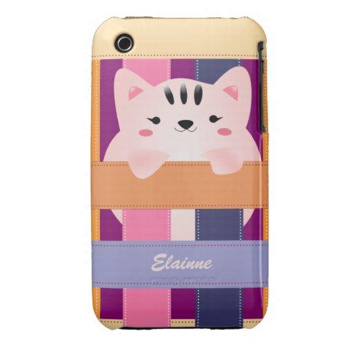 Caso lindo del iPhone 3G/3GS Barely There del Case-Mate iPhone 3 Funda