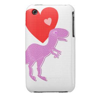 Caso lindo del iPhone 3G/3GS del dinosaurio de iPhone 3 Case-Mate Cárcasa