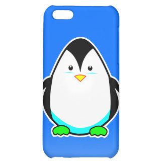 Caso lindo del iphone 4 del pingüino