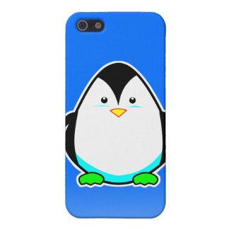 Caso lindo del iphone 4 del pingüino iPhone 5 fundas