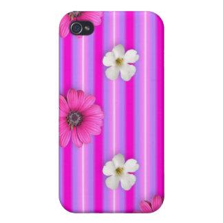 caso lindo del iPhone 4S iPhone 4 Protectores