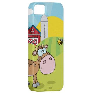 Caso lindo del iPhone 5 de la granja iPhone 5 Protectores
