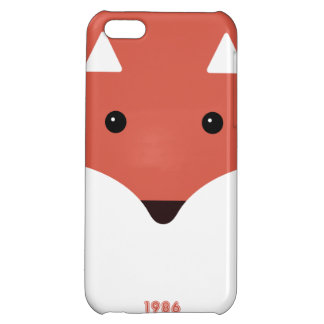 Caso lindo del iphone 5 del dibujo animado del Fox