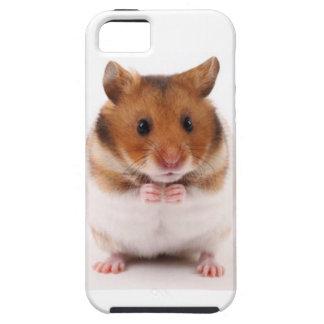 Caso lindo del iPhone 5 del Gerbil del hámster iPhone 5 Case-Mate Funda