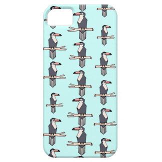 Caso lindo del iPhone 5 del modelo de Toucan Funda Para iPhone SE/5/5s