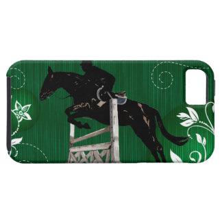 Caso lindo del iPhone 5 del puente del caballo Funda Para iPhone 5 Tough