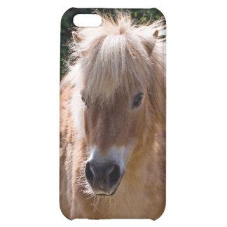 Caso lindo del iphone 5c del potro de Shetland id