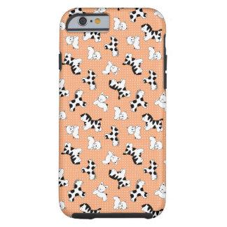 Caso lindo del iPhone 6 de los animales del bebé Funda De iPhone 6 Tough