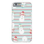 Caso lindo del iPhone 6 del diseño del invierno