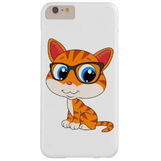Caso lindo del iPhone 6 del gato Funda Para iPhone 6 Plus Barely There