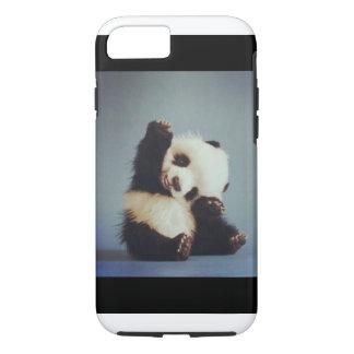 Caso lindo del iPhone 7 de la panda del bebé Funda iPhone 7