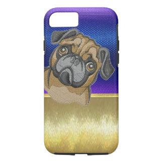 Caso lindo del iPhone 7 del diseño del perro del Funda iPhone 7