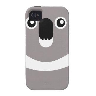 Caso lindo del iPhone de la koala iPhone 4 Carcasa