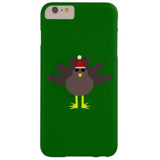 Caso lindo del iPhone de Turquía del navidad Funda De iPhone 6 Plus Barely There