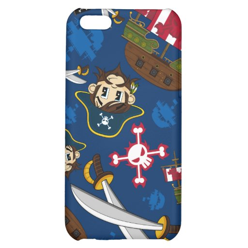 Caso lindo del iphone del capitán del pirata