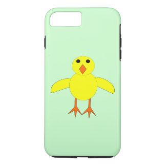 Caso lindo del iPhone del polluelo de Pascua Funda iPhone 7 Plus