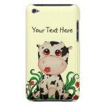 Caso lindo del tacto de iPod de la vaca del bebé iPod Touch Case-Mate Coberturas