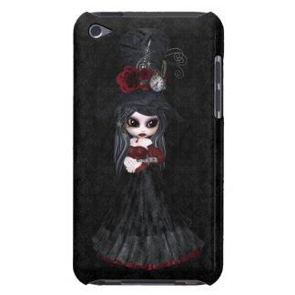Caso lindo del tacto de iPod del chica del gótico iPod Case-Mate Carcasas