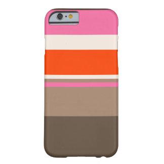 caso lindo rayado neopolatian iphone6 funda de iPhone 6 barely there