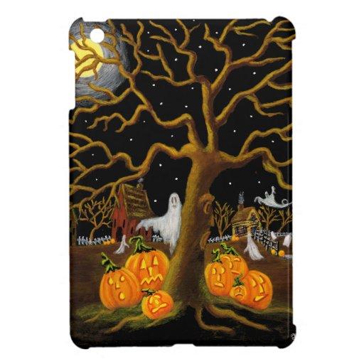 caso listo del ipad mini. Halloween, fantasmas, fa iPad Mini Carcasa