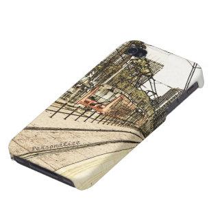 Caso listo del iPhone 4 - bosquejo del tren de San iPhone 4 Carcasa