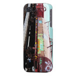 Caso listo del iPhone 4 - coche de tren de la pint iPhone 4 Cárcasa