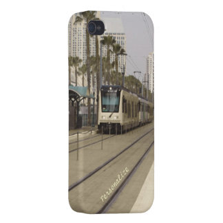 Caso listo del iPhone 4 - textura del tren de San  iPhone 4/4S Fundas