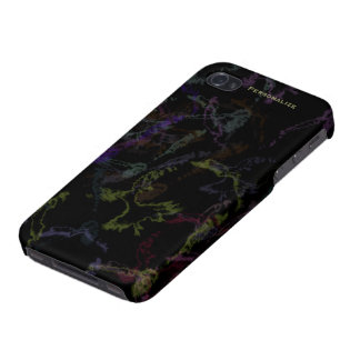 Caso listo del iPhone 4 - tormenta del relámpago e iPhone 4 Protectores