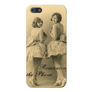 Caso listo del iPhone 5 de las bailarinas del vint iPhone 5 Fundas