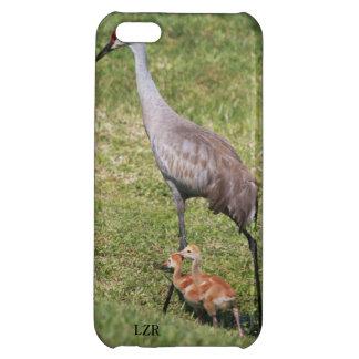 Caso listo del iPhone 5 - grúa y polluelos de Sand