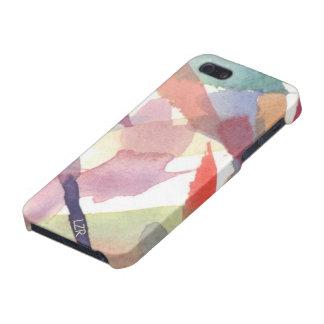 Caso listo del iPhone 5 - manchas de la acuarela iPhone 5 Protectores