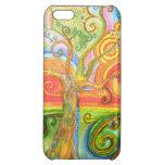 Caso listo del iPhone 5 psicodélicos coloridos del