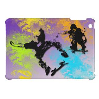 Caso listo del mini caso del iPad de los skateres