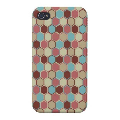 Caso listo geométrico moderno del iPhone 4 iPhone 4 Carcasas